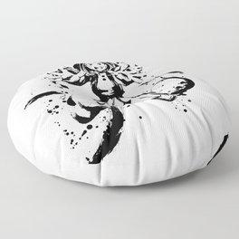 Uraraka Ochaco Ink Splatter Floor Pillow