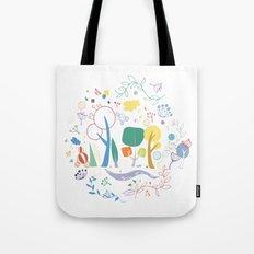 Spring pattern1 Tote Bag