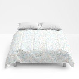 Splatter - Orange Blue Colorway Comforters