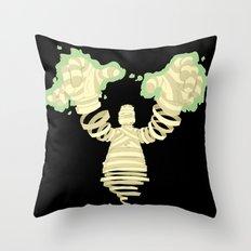 Mummy Dearest Throw Pillow