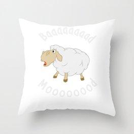 Funny Sheep - Funny Farming Throw Pillow