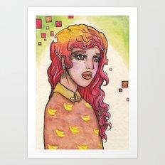 APE ESCAPE Art Print