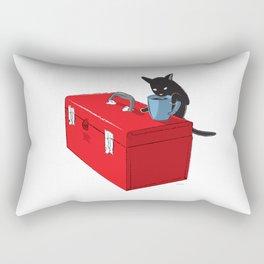 Chat Noir Beverage Tipper Rectangular Pillow