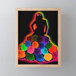 Blossoming Babe Framed Mini Art Print