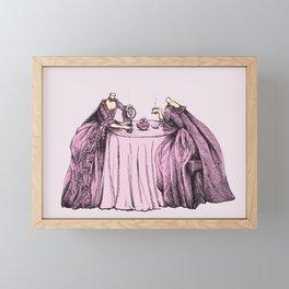 Mindless Conversation Framed Mini Art Print