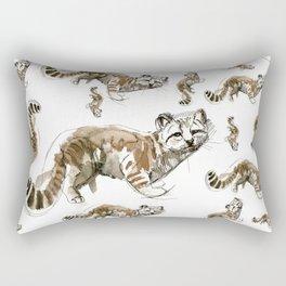 Totem Andean cat (AGA) Rectangular Pillow