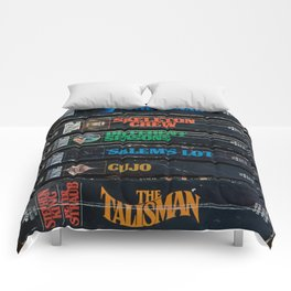 Stephen King Well-Worn Paperbacks Comforters