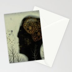 Rusty Gears Stationery Cards