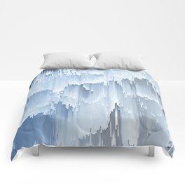 Waterfall glitch Comforters