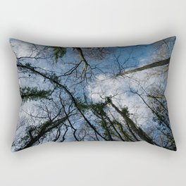 Loamhole Dingle Treetops Rectangular Pillow