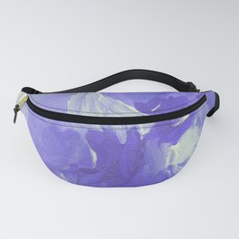 Violet Abstract Fanny Pack