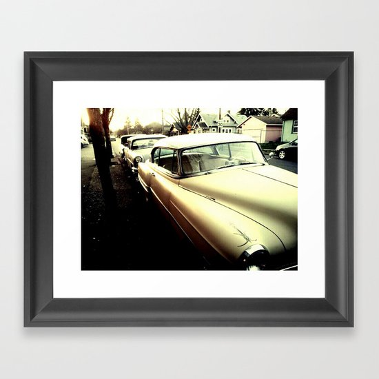 Cars Framed Art Print