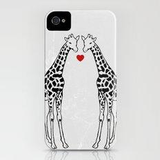 Giraffe Love Slim Case iPhone (4, 4s)