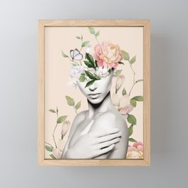 Floral beauty 6 Framed Mini Art Print