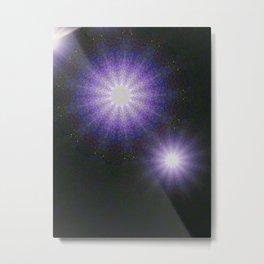 High Vibe-Moon Mandalas Metal Print