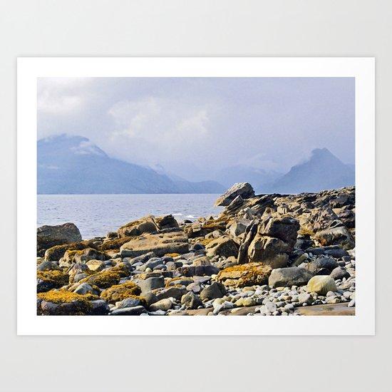 Loch Scavaig Art Print