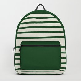 Holiday x Green Stripes Backpack
