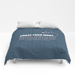 Flanery - Chase Your Want Comforters