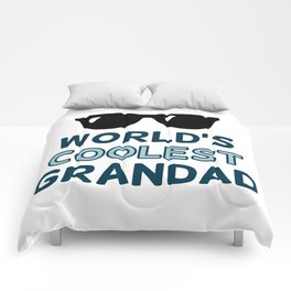 World's Coolest Grandad Comforters