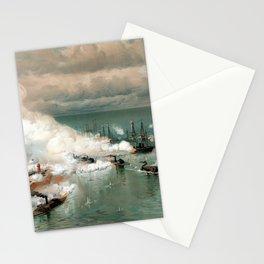 Battle Of Mobile Bay -- Civil War Stationery Cards
