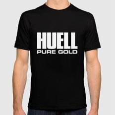Huell Howser Pure Gold California Mens Fitted Tee Black X-LARGE