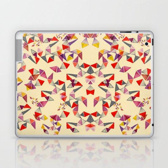 watercolour geometric shapes Laptop & iPad Skin