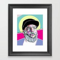 P Thugg of Chromeo Framed Art Print