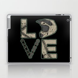I Love Dirt Bike | Motocross Laptop & iPad Skin