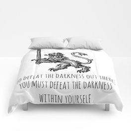 TO DEFEAT THE DARKNESS Comforters