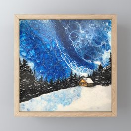 Siberian Nigh Framed Mini Art Print