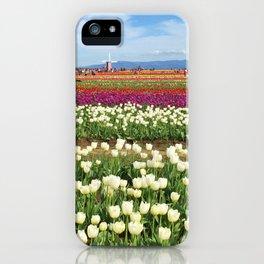 Woodburn Tulips iPhone Case