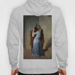 The Kiss by Francesco Hayez Hoody