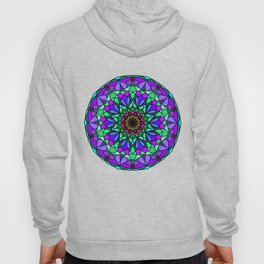 colorful decorative in trendy colors Hoody