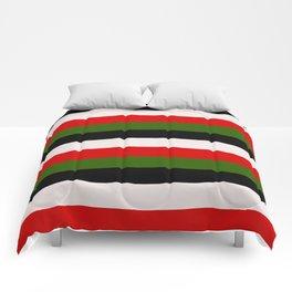 Four Tone Stripes - Christmas Comforters