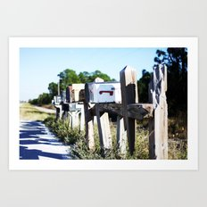 Country Mail #3 Art Print