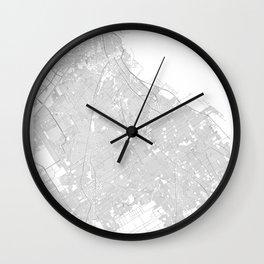 Buenos Aires, Argentina Minimalist Map Wall Clock