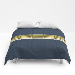 Racing Retro Stripes Comforters