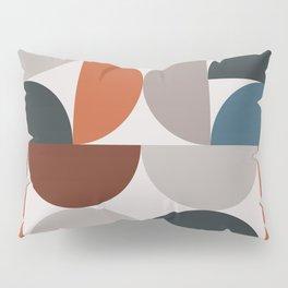 Mid Century Modern Geometric 25 Pillow Sham