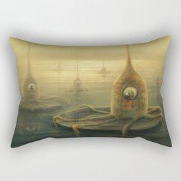 Testing the Waters Rectangular Pillow