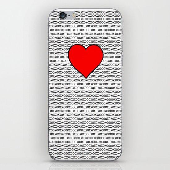 Symbols of Love iPhone & iPod Skin