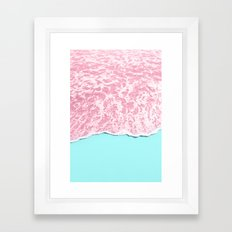 PINK SEA Framed Art Print
