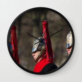 Blues and Royals Life Guards Wall Clock