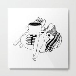 Big Breakfast Metal Print