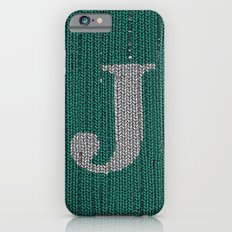Winter clothes. Letter J III iPhone 6s Slim Case