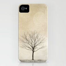 Snow Bokeh Wonderland  iPhone (4, 4s) Slim Case