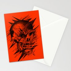 Skull's Not Dead Stationery Cards