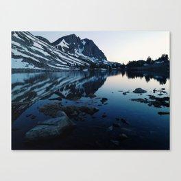 Pika lake Canvas Print