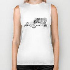 Wolf Skull Biker Tank