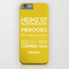 Pittsburgh — Delicious City Prints Slim Case iPhone 6s