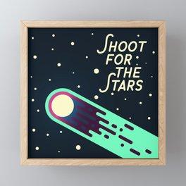 Shoot for the Stars Framed Mini Art Print